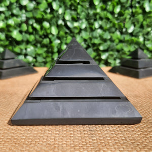 Shungite Sakkara Pyramid - 70mm