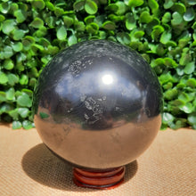 Load image into Gallery viewer, Shungite Sphere - 80mm