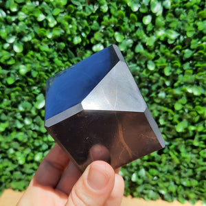 Shungite Cube On Stand - 50mm