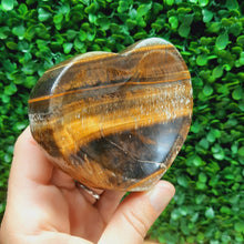 Load image into Gallery viewer, Tiger's Eye Bowl - Heart