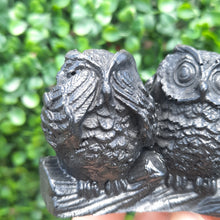 Load image into Gallery viewer, Shungite Three Wise Owl's