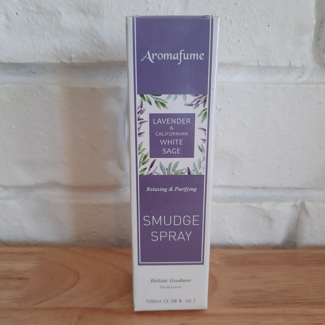 Aromafume Smudge Spray - Lavender & Californian  White Sage