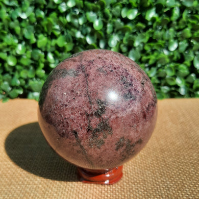 Plum Tourmaline Sphere