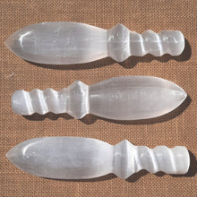 Load image into Gallery viewer, Selenite / Satin Spar Sword 20cm