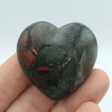 Load image into Gallery viewer, African Blood Stone Hearts - The Crystal Society Pty Ltd