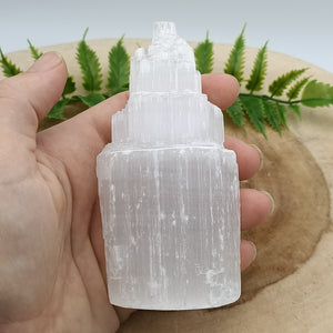 Selenite / Stain Spar Tower
