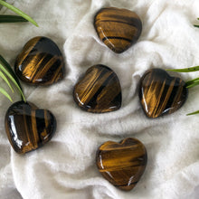 Load image into Gallery viewer, Tiger's Eye Hearts