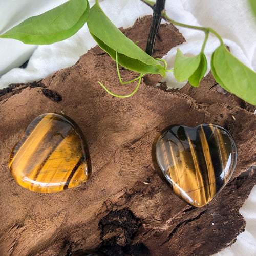 Tiger's Eye Hearts