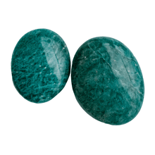 Load image into Gallery viewer, Amazonite Palm Stone - The Crystal Society Pty Ltd
