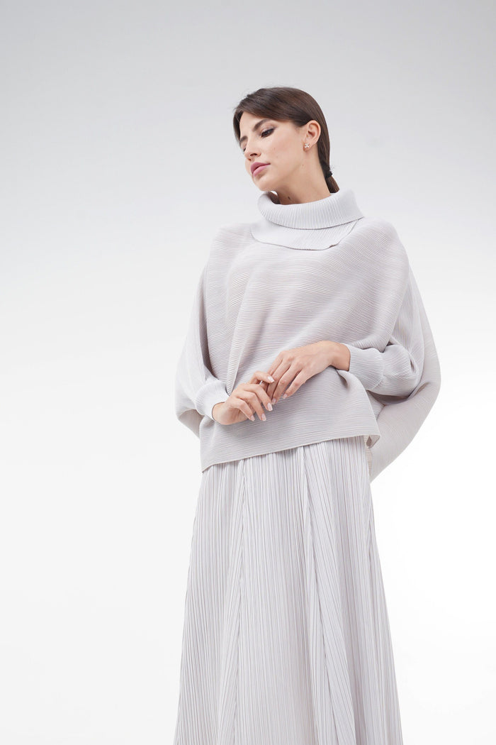 Adeline Double Collar Top | Adeline طوق مزدوج الأعلى - Alita Pleat