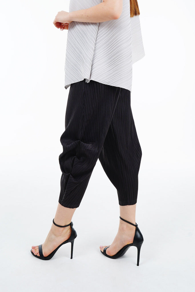 Pamela Tapered Pleated Pants