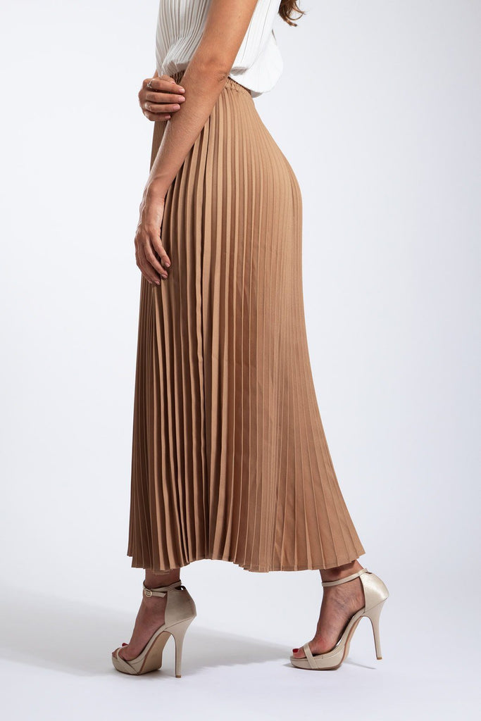 Andrea Big Pleat A-line Skirt