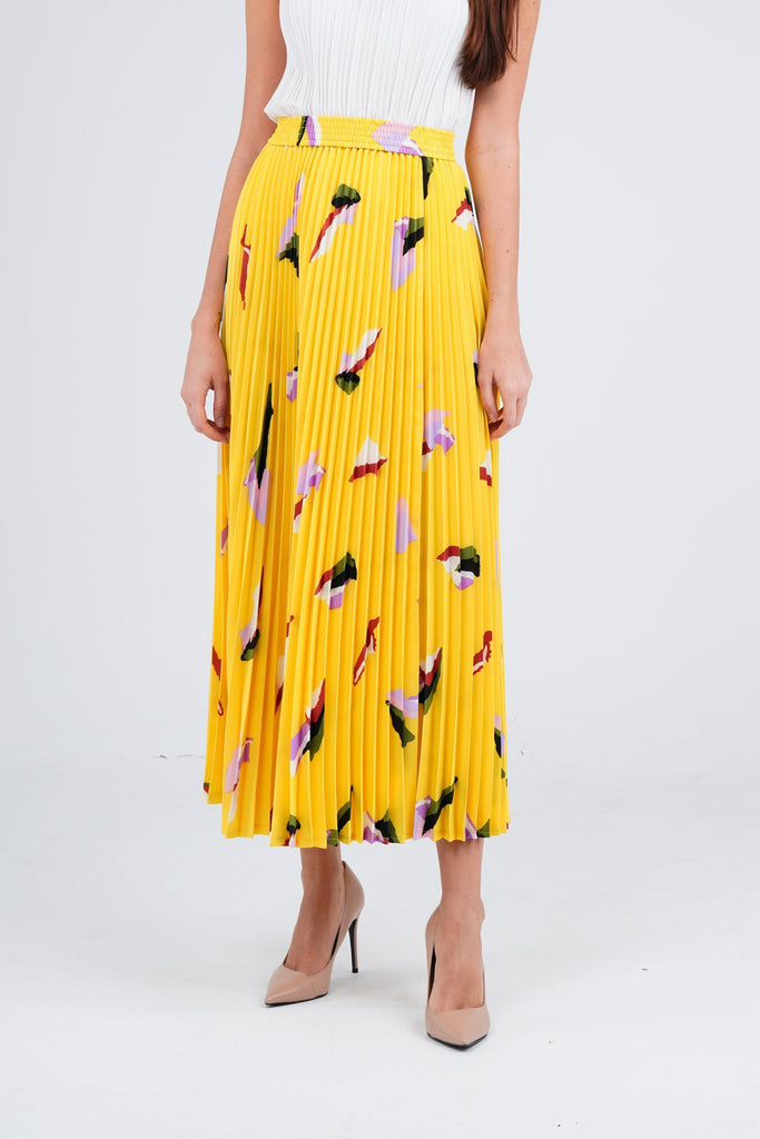 Yellow with Print