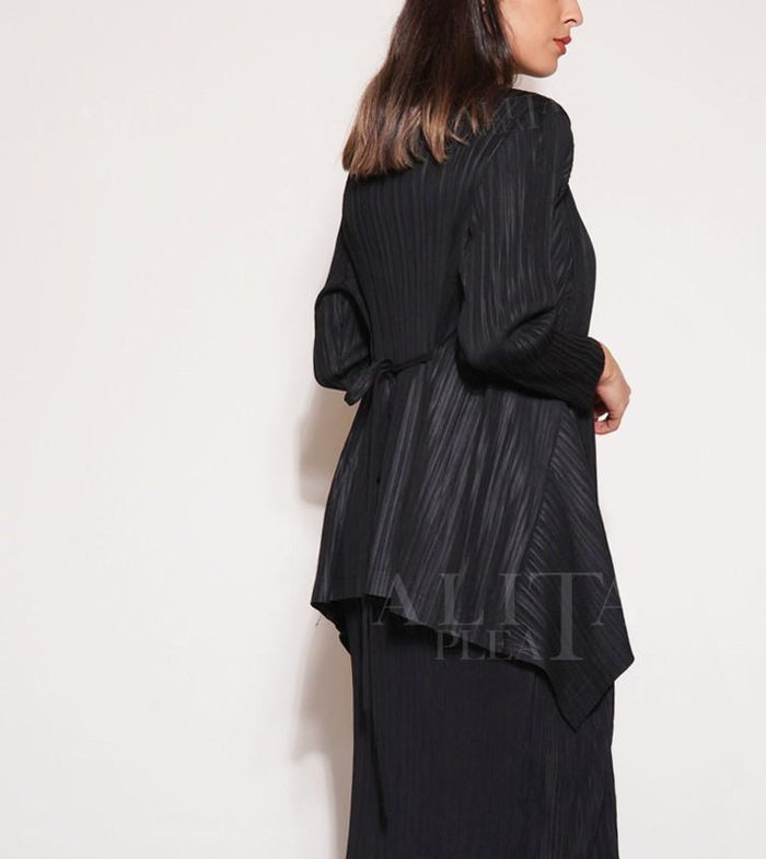 Myra Pleated Jacket - Alita Pleat