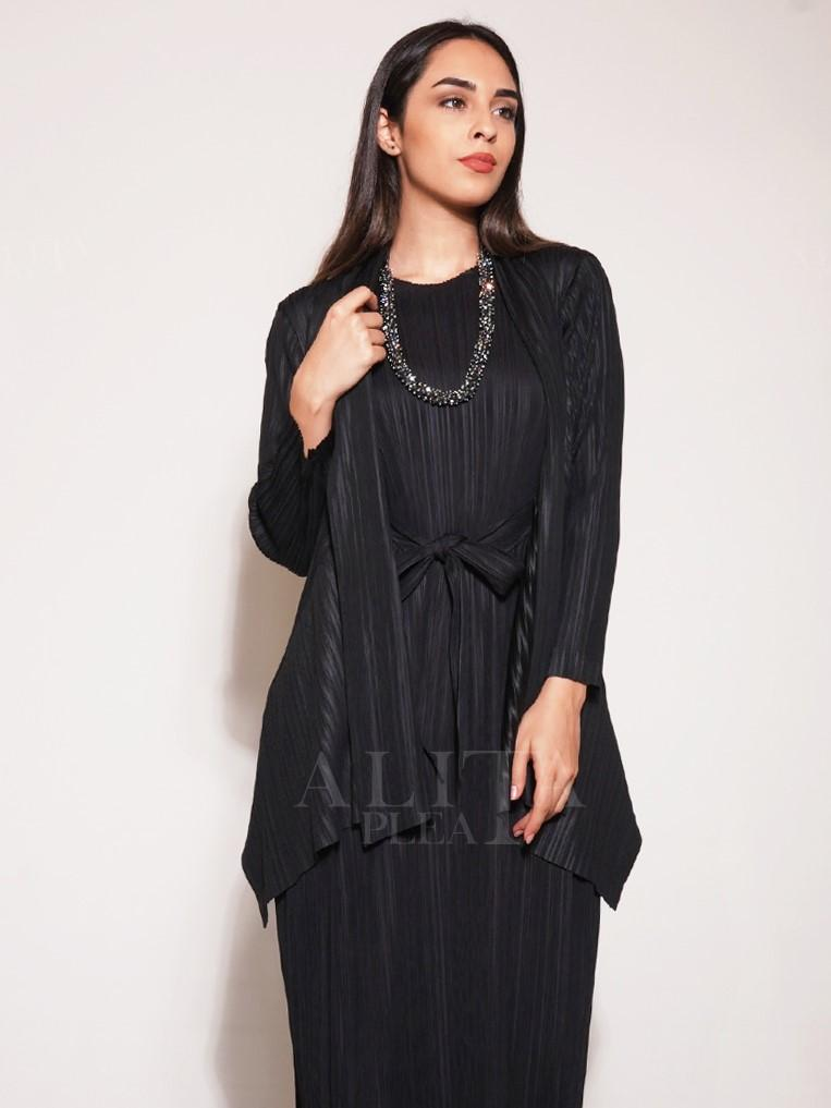 Elena Pleated Cardigan - Alita Pleat