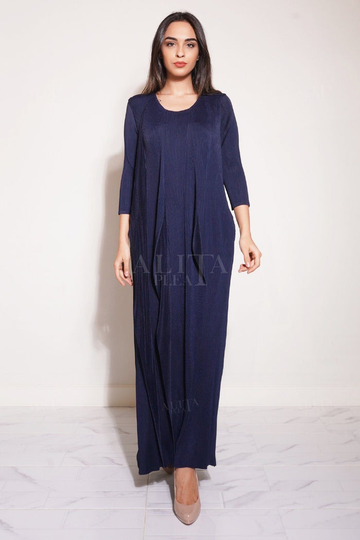 Dharma Long & Loose Fitting Dress - Alita Pleat
