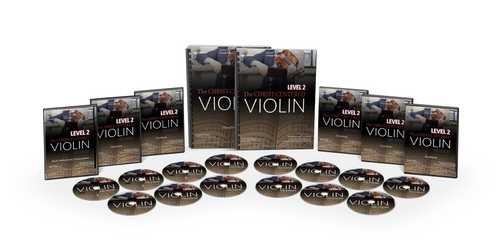New for 2018: Pre-Order The Christ-Centered Violin Method Homeschool Curriculum Level 2