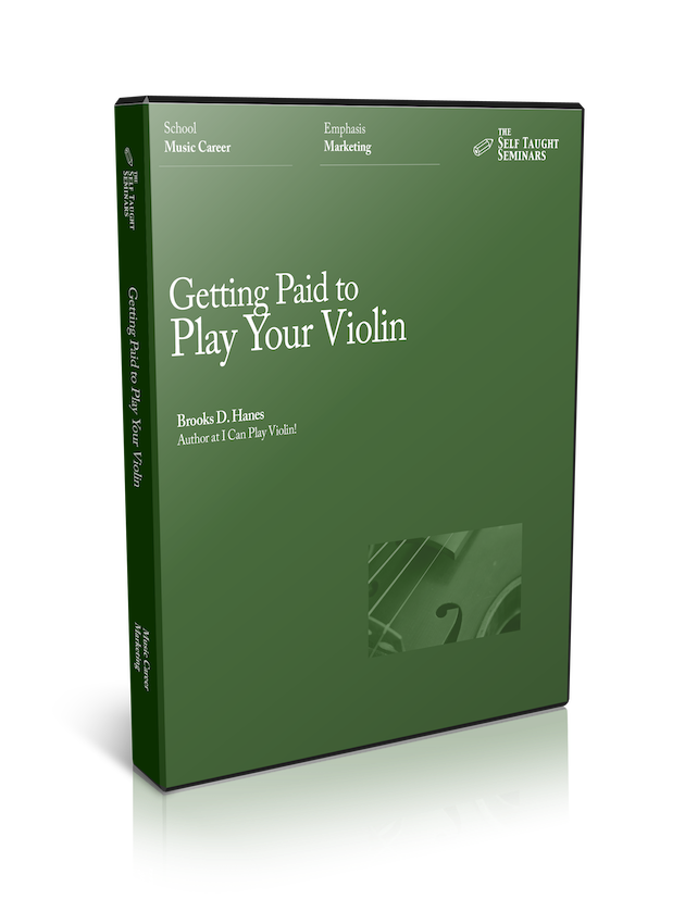 Getting Paid to Play Your Violin