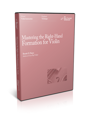 Mastering the Right-Hand Formation for Violin