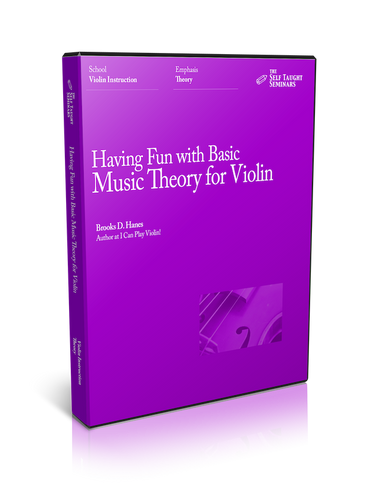 Having Fun with Basic Music Theory for Violin