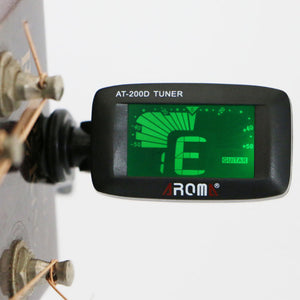 Aroma AT-200D 360 Degree Rotatable Guitar Clip Tuner Guitar Bass Ukulele Violin Tuner Instrument Accessory free shipping