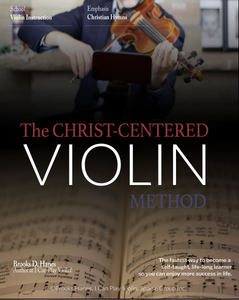 The Christ-Centered Violin Method for Homeschool 5-Hymn Jump-Start Sampler on USB