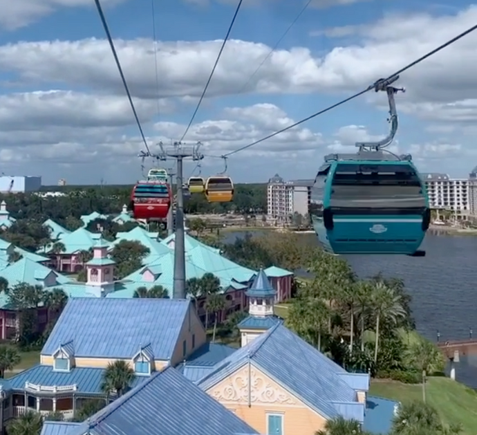 Skyliner NOW Open at Walt Disney World!