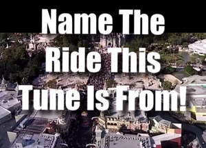 Name The Ride This Tune Is From
