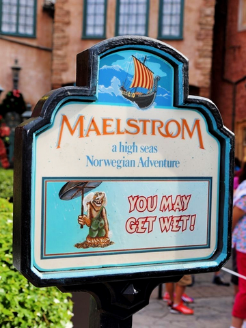 Maelstrom Norway Epcot World Showcase Walt Disney World