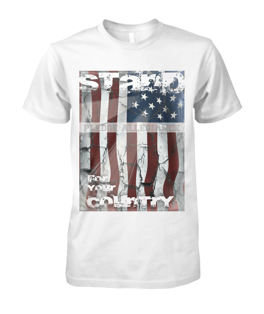 Stand For Your Country Unisex Cotton Tee