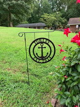 "Load image into Gallery viewer, Anchor Nautical Decor - Personalized 12"" & 14"" Circle - Yard/Garden"