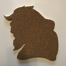 Load image into Gallery viewer, Beauty and The Beast-Inspired Silhouette Profile Cork Pin Boards