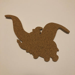 Dumbo Flying-Inspired Cork Pin Board