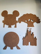 Load image into Gallery viewer, Four Parks, Walt Disney World-Inspired Cork Pin Boards