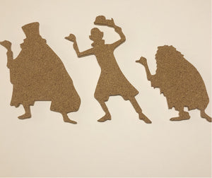 Hitchhiking Ghosts-Inspired Cork Pin Board