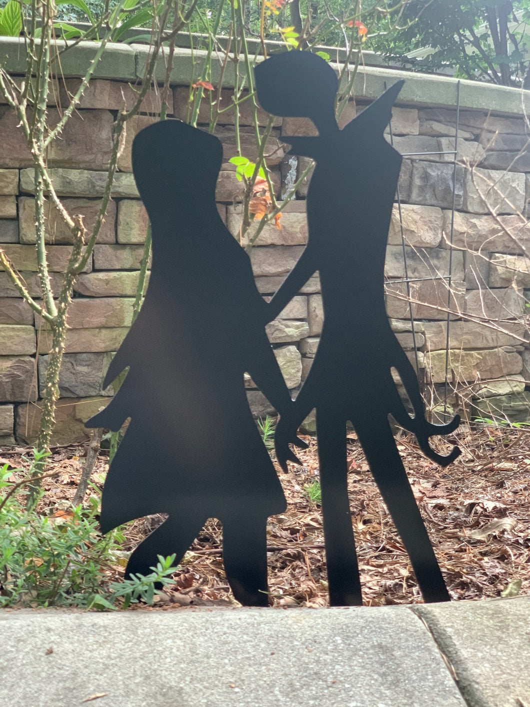 Jack & Sally Standing - Nightmare Before Christmas Inspired Decor - 15
