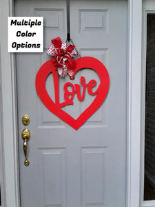 "Valentine's Love - Large 24"" Wall/Door Decor"