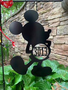 Your Mouse - Custom-Inspired ADDRESS # Yard/Garden Flag