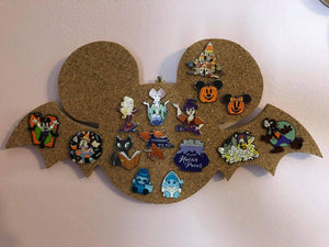 Halloween Themed Mickey-Inspired Pin Board
