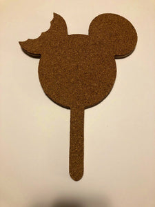 Mickey Ice Cream Bar-Inspired Cork Pin Board