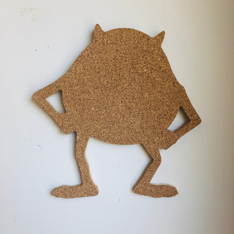 Monster Inc.-Inspired Cork Pin Boards