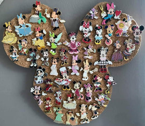 Minnie Mouse-Inspired Cork Pin Board