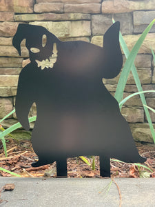 "Oogie Boogie - Nightmare Before Christmas Inspired Decor - 18"" X 24"""