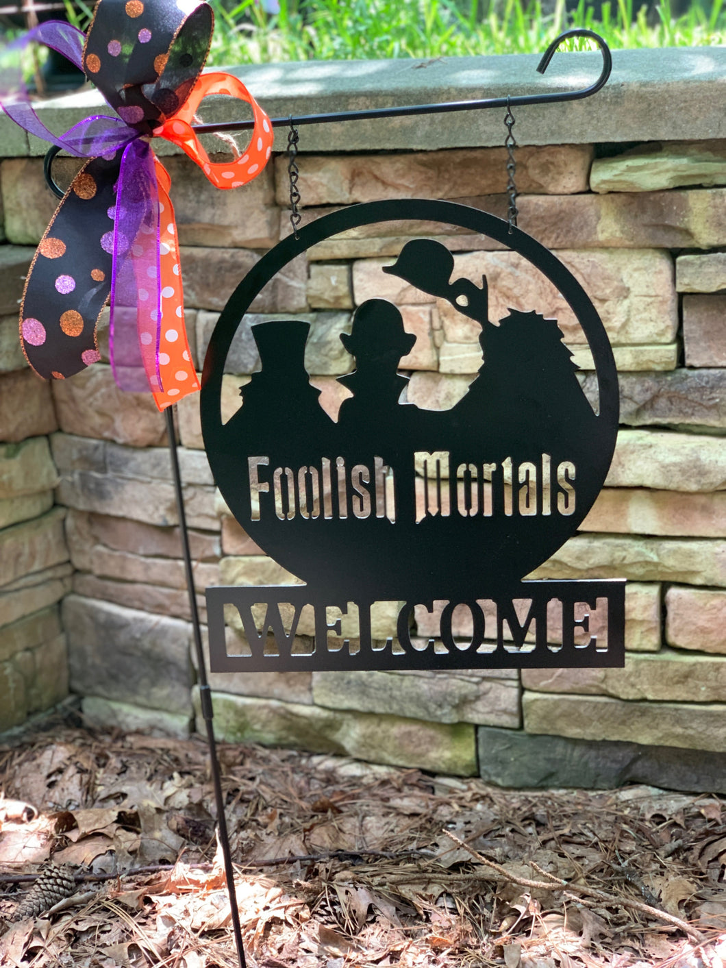Welcome Foolish Mortals - Hitchhiking Ghosts Decor - 16
