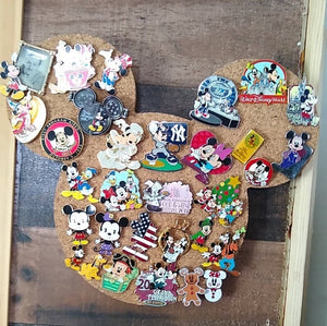Dumbo-Inspired Cork Pin Board