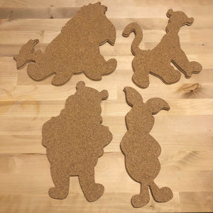 Pooh and Company-Inspired Pin Boards