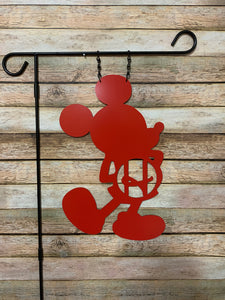 "Your Mouse - Custom-Inspired Initial MONOGRAM Yard/Garden Flag - 10""x16"""