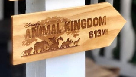 Your Miles to Animal Kingdom Personalized Sign - SPECIAL EDITION