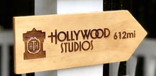 Load image into Gallery viewer, Your Miles to Hollywood Studios Personalized Sign - SPECIAL EDITION