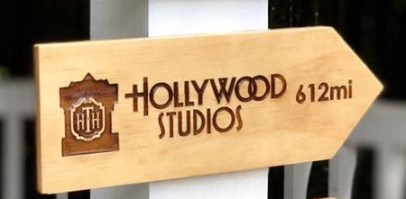 Your Miles to Hollywood Studios Personalized Sign - SPECIAL EDITION